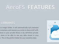 Unsolicited redesign - AeroFS