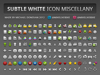 Icon Miscellany (Subtle White)