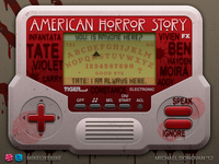 Handheld Video Game UI (American Horror Story)
