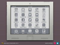 iPad Throwback Design UI