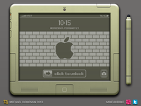 iPad Legacy Lockscreen & Stylus UI