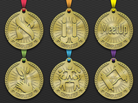 Course Completion Medals