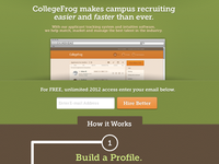 CollegeFrog Home Page