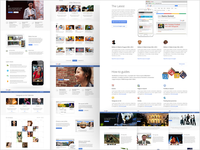 Google+ More layouts