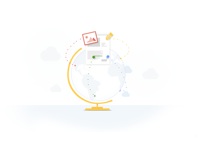 Google Drive - Collaboration Globe