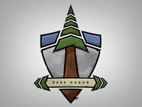 Rare Honor Logo Illustration v2