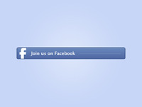 Facebook Button - Freebie PSD