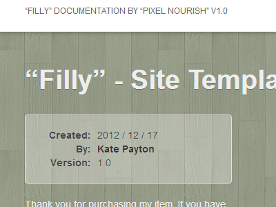 Filly04-documentation