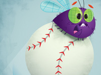 and its a Fly ball . . .