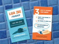 enetRecruiter Business Cards
