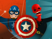 Captain America VS. Red Skull - FINAL