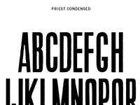 Priest Condensed - free download