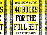 FOUNDFONT™ black friday deal