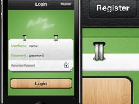 iPhone App Login screen Update