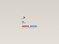 Pure CSS Animated Checkbox and Range Slider
