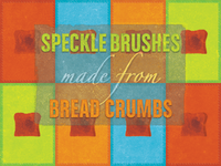 Photoshop Brush Set Made From a Toast — Freebie