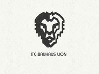 ITC Bauhaus Lion (made from Bauhaus letters)