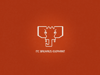 ITC Bauhaus Elephant (Animals in letters)