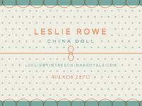 china dolls business card