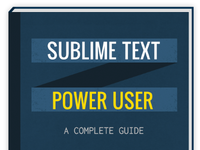 Sublime Text book