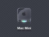 "Mac Mini ""Dark Side Edition"""