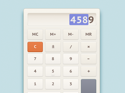 Calculator_gui-dribbble