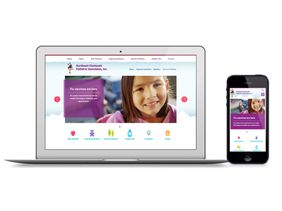 Cincinnati Pediatrics Responsive Website