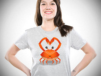 You're Never Lonely When You've Got Crabs t-shirt