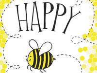 happy bee day. har har!