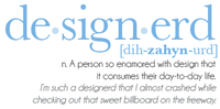 Designer Vocabulary: designerd
