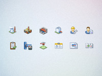 Thermal plant software icons