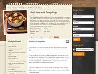 Simon Howie - Recipe page