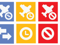 Flight Status Icons