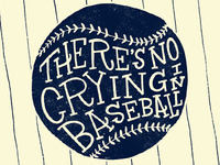 Crying In Baseball