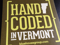 Hand Coded in Vermont