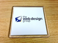 The Web Design Group Coaster's