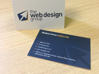 The Web Design Group Business Cards
