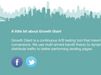 Growth Giant Footer