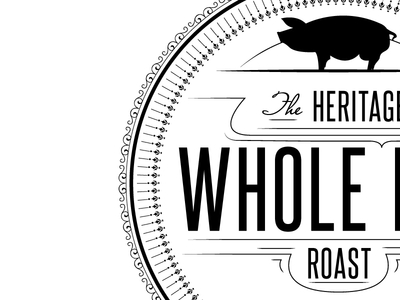Heritage Whole Hog Roast