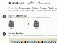 COLOURlovers + Threadless + Steven Alan