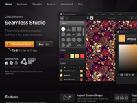 Seamless Studio Product Page
