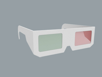 3d Glasses Web Icon WIP