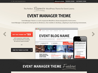 Eventmanagertheme