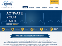 Dynamic Church 2012 Website