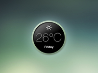 Minimal Weather Widget