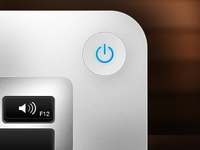Apple Mac Power Button