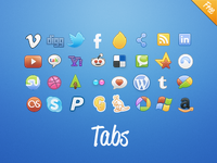 Tabs Social: Colors (and Classic) - Now free!