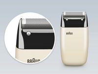 Braun Electric Shaver S60 by Dieter Rams, 1958 [PSD]