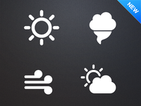 Tabs: Weather, Available