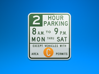 Signs: Crazy Parking Signs